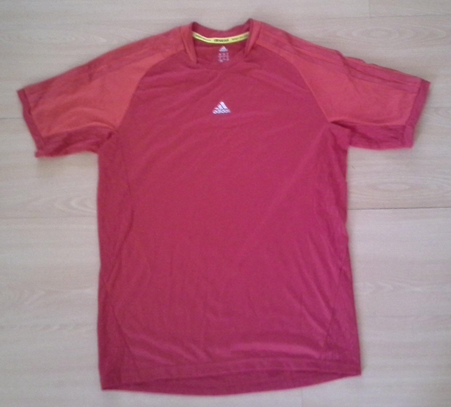 Adidas Climacool Tee Shirt Red Men's Medium Core Training Top T Z32903