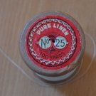 Vintage Linen Thread Charles Brown Machine #25 Wood Spool Belgium Off-White