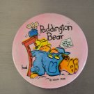 "Vintage Paddington Bear Pin Button Eden 1980 Pink 2.25"" Metal Geppetto's"
