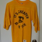 It's Cheaper After Six Shirt Vintage 1970's Collegiate Pacific Bell Phone Small