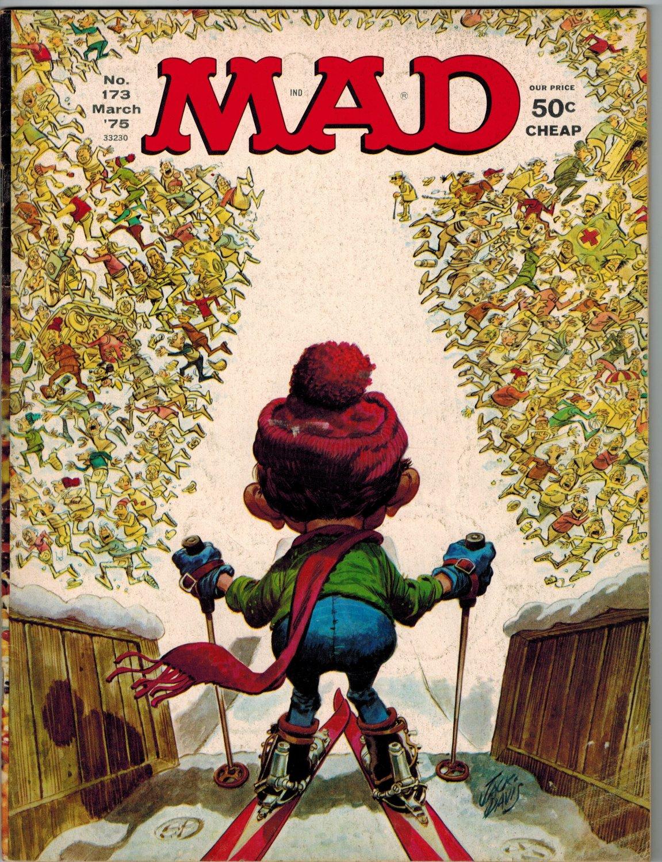 MAD MAGAZINE #173 March 1975 Chinatown Skiing