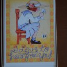 Lot 8/box 1991 Mary ENGELBREIT BLANK NOTE. Greeting Card I LOVE TO HEAR FROM YOU