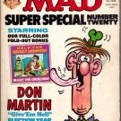 1976 MAD MAGAZINE SUPER SPECIAL #20 w/ Don Martin Election Year stickers intact