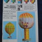 Classic Balloons Jan Zbanek 1976 Lyceum Book Pilatre de Rozier Fedele di Carmine