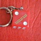 NEW Vintage Reno Nevada Harold's Club Casino Dice Keychain Die Key Ring