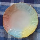 """Tressemanes & Vogt Limoges T&V Bread Plate Pastel 6in Bread Vintage Paisley 6"""""""