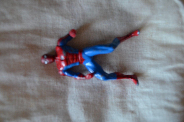 """Spiderman Marvel Die Cast Action Figure 1994 Toy Biz 2.75"""""""