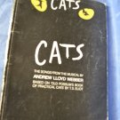 CATS Sheet Music Songbook Vocal Selections Piano Guitar Lyrics 1981
