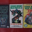 Teenage Mutant Ninja Turtles The Movie 1 2 & 3 The Secret Of The Ooze VHS Lot