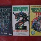 Teenage Mutant Ninja Turtles The Movie 1 2 & 3 The Secret Of The Ooze VHS Lot