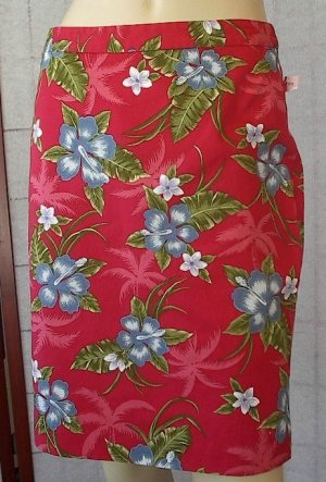 TOMMY BAHAMA Pink Floral STRETCH SKIRT New NWT 4
