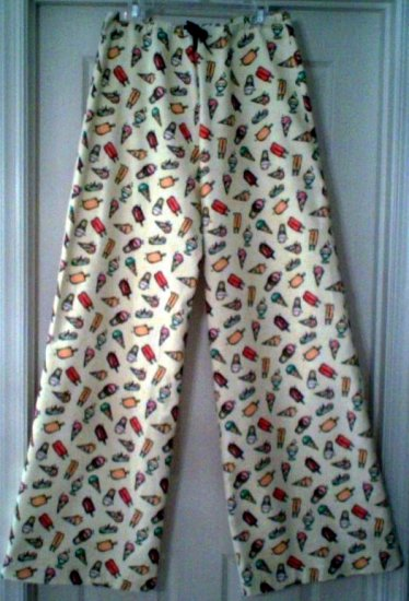 Popsicle Flannel Pajama Bottoms - Custom Order