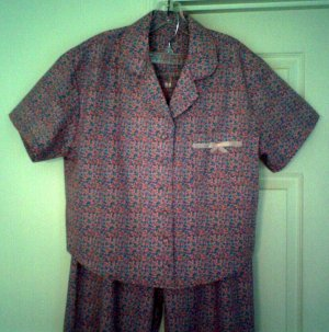 Old Fashioned Cotton or Flannel Pajamas