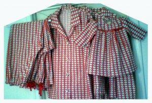 Flannel Christmas Pajamas for the Family - Custom Made