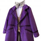 Custom Made Willy Wonka Costume for Boys