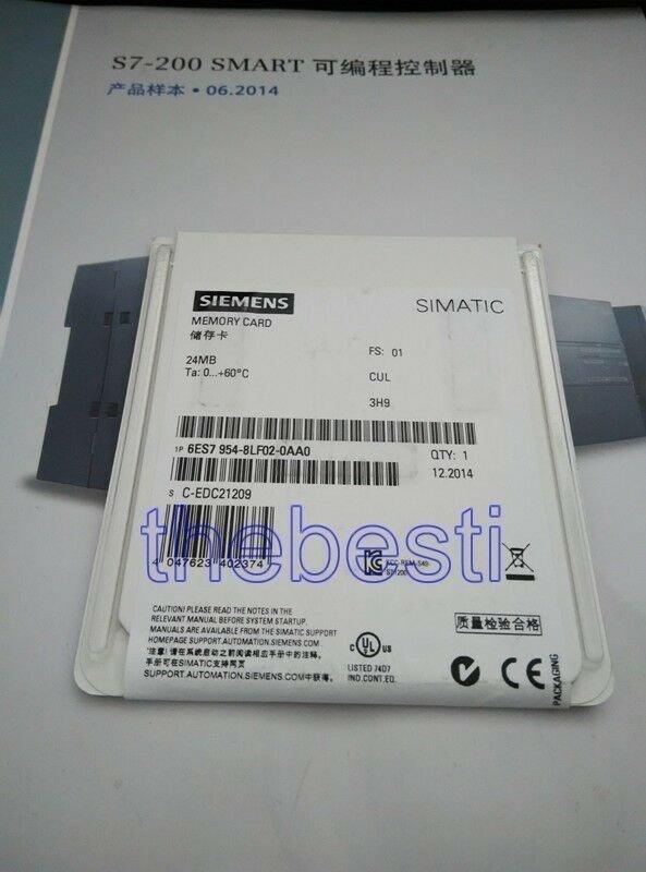 1 PC New Siemens 6ES7954-8LF02-0AA0 6ES7 954-8LF02-0AA0 In Box