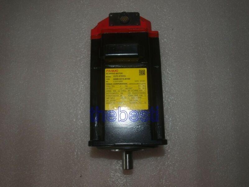 1 PC Used Fanuc A06B-0215-B100 Servo Motor In Good Condition