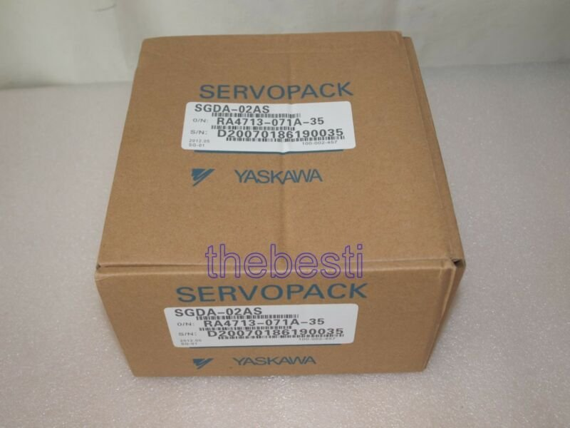 1 PC New Yaskawa SGDA-02AS Servo Drive In Box