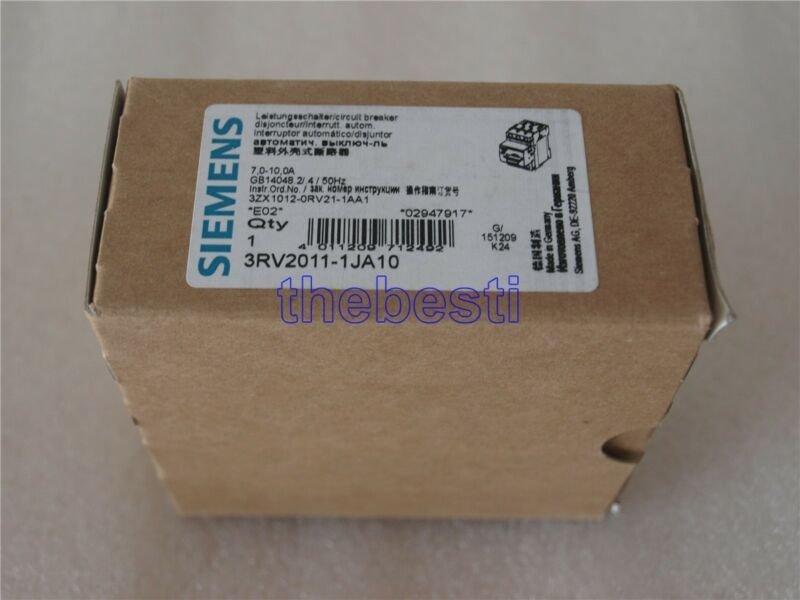 1 PC New Siemens 3RV2011-1JA10 Circuit Breaker