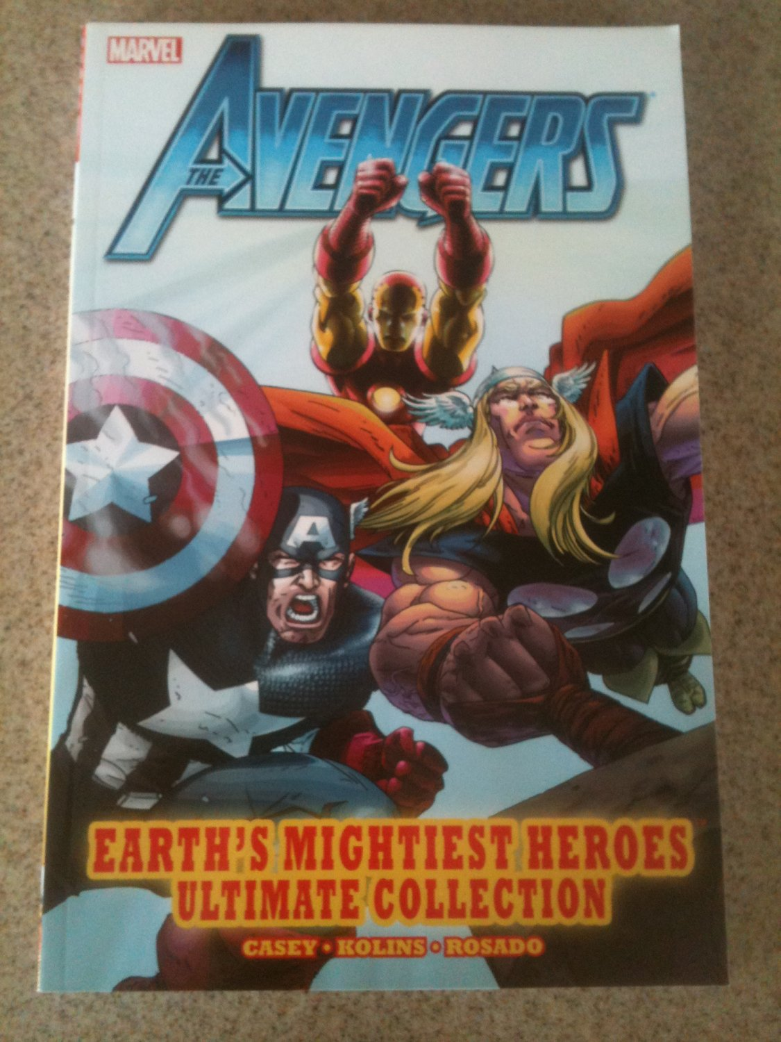 Avengers: Earth's Mightiest Heroes Ultimate Collection TPB (2012, Marvel) Unread