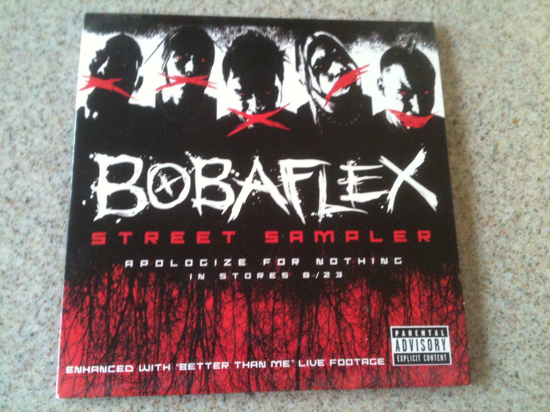 Bobaflex - Street Sampler (CD, 2005) VG+, Songs from Apologize for Nothing