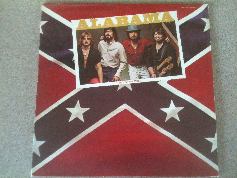 Alabama - Mountain Music (1982, Vinyl LP, RCA) AHL1-4229
