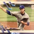 2021 Topps #169 Brady Singer Kansas City Royals Rookie Card