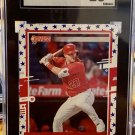 2020 Donruss 129 Mike Trout Independence Day SGC 10 Gem Mint