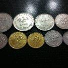 Croatian coin full set - Kune & Lipe - 9 PCS !