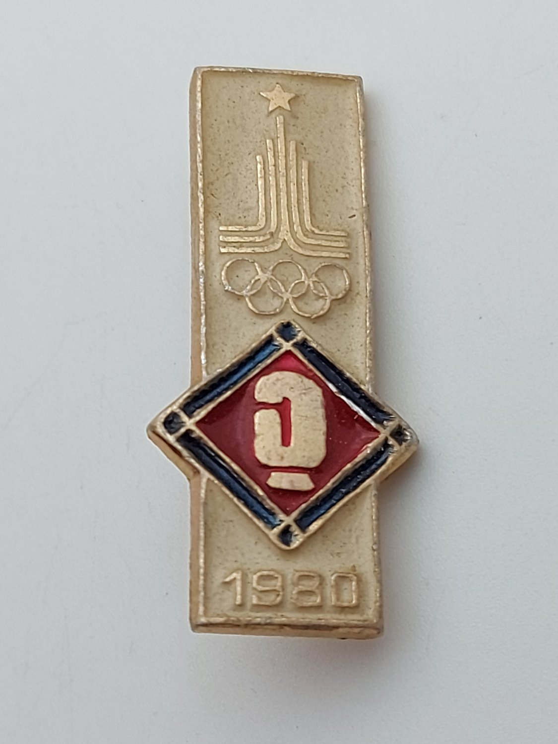 Boxing, Box - Olympic Games Moscow 1980 OLYMPIC vintage pin, badge, lapel !