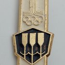 Olympic Games Moscow 1980 OLYMPIC Russian USSR vintage pin, badge, lapel !