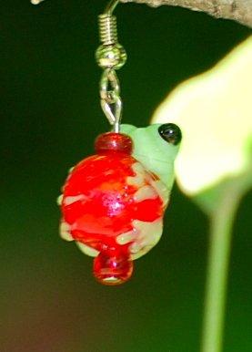 Froggie earring