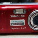 Samsung Digimax A403 Digital Camera used