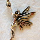 Sterling Silver 925 Fairy Pendant or Charm 3-D 1.18""
