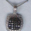 .33 CT Champagne Brown Diamond Pendant