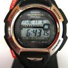 GWM850-1 G-Shock Solar Atomic Watch Casio Black Resin Strap Stainless Steel
