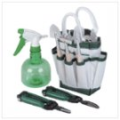 Potted Plant Garden Care Kit with Tote