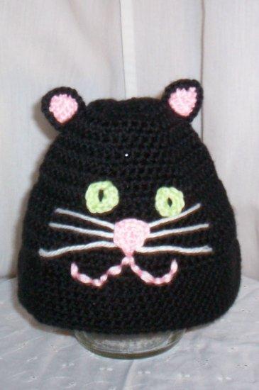 Child's Black Cat Hat