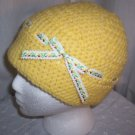 Yellow Ribbon Cloche