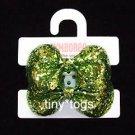 NWT Gymboree Snow Princess Green Glitter Hair Ponies 5