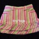 Gymboree Sweetheart Valentine's Striped Skort Skirt 2T