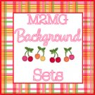 M2MG Cherry Baby Background Set for Templates