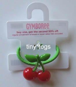 NWT Gymboree Cherry Baby Hair Pony 3 4 5 6 7 New