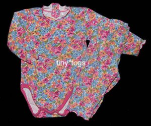 Childrens Place TCP 2pc Pink Floral Outfit Set 3 6 m