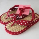 NWT Gymboree Red White Blue Star Sandals 7 8 2T 3T