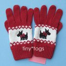 NWT Gymboree Holiday Friend Scottie Gloves 5 6 7 New