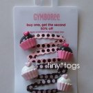 NWT Gymboree Sweeter than Chocolate Bon Bon Snap Clips