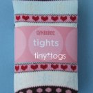 NWT Gymboree Winter Snowflake Fair Isle Tights 5 6 7 yr
