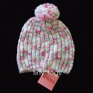 NWT Gymboree Snow Princess Sweater Hat Pom Pom 3 4 3T