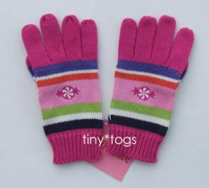 NWT Gymboree Candy Shoppe Pink Gloves 5 6 7 New
